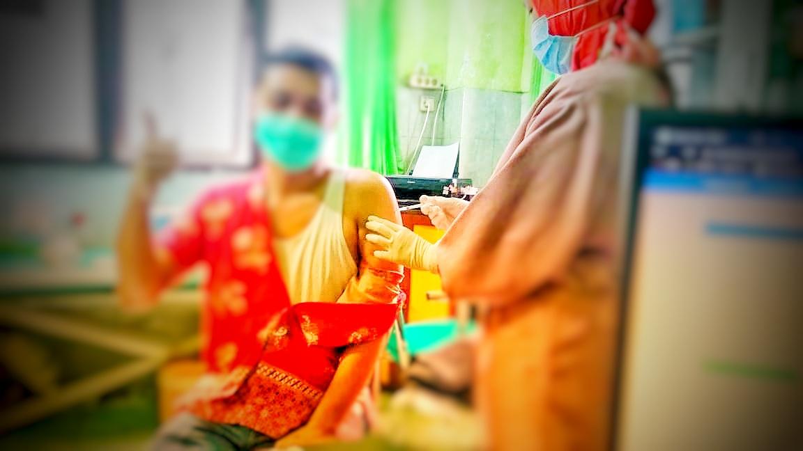 Puskesmas Jetis Mulai Melakukan Vaksinasi Covid19
